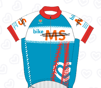 Bike MS Coastal Challenge 2014 Jersey