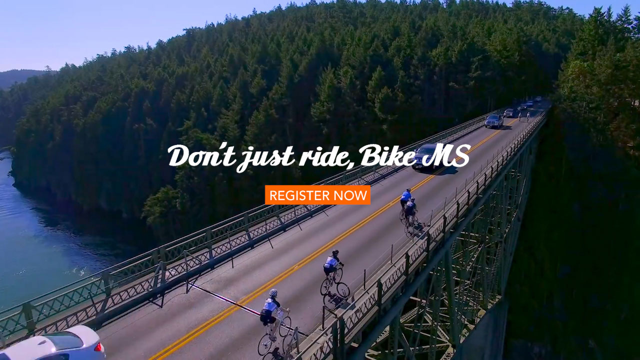 Don't just ride, Bike MS
