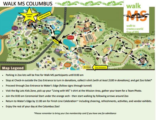 Walk MS: Columbus, OH 2018: Routes & Maps - National MS Society