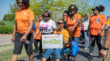 Enjoy the experience of a lifetime with Walk MS