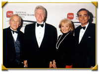 "Actor John Spencer of the ""The West Wing,"" former President Bill Clinton, Macy's CEO Hal Kahn, Barbara Walters"