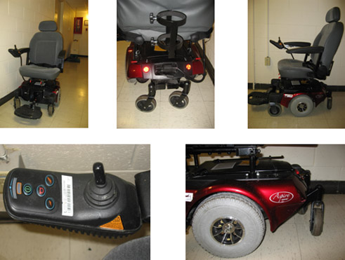 Quickie/Guardian Aspire Power Wheelchair model M11