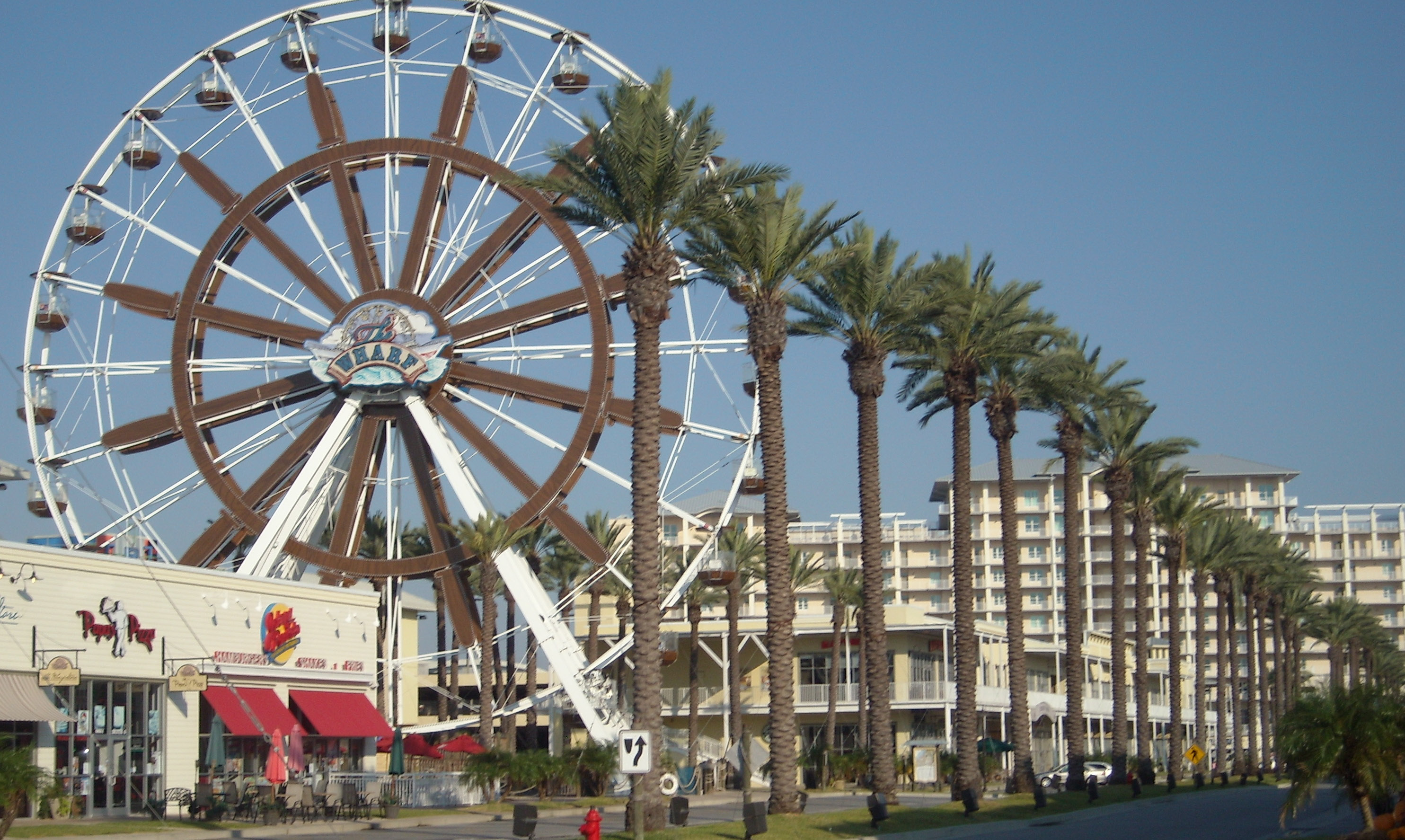 Orange Beach The Wharf Ferris Wheel Border Bash Ride Details National Ms Society