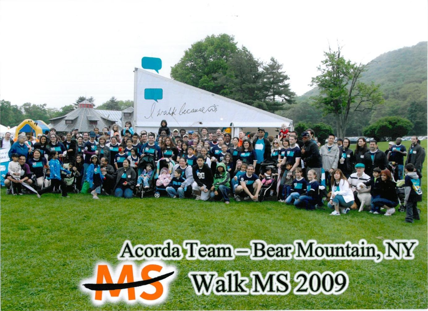 2009 Walk MS Acorda Team Bear Mountain