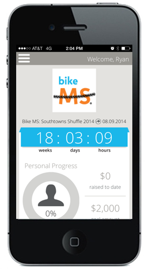 Bike MS mobile app v2