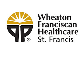 Wheaton Franciscan logo vertical