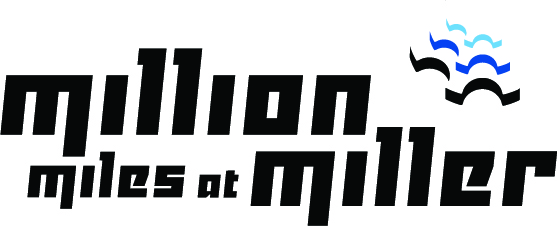 Million Miles at Miller Logo